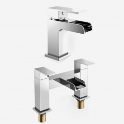 Waterfall Square Mixer Tap...